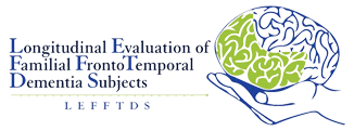 logo for LEFFTDS: Longitudinal Evaluation of Familial Frontotemporal Dementia Subjects