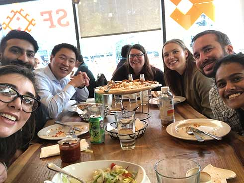 photo of Lab Lunch at SF Kebab!