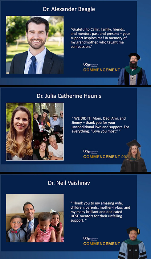 photo of Congratulations UCSF med school graduates!