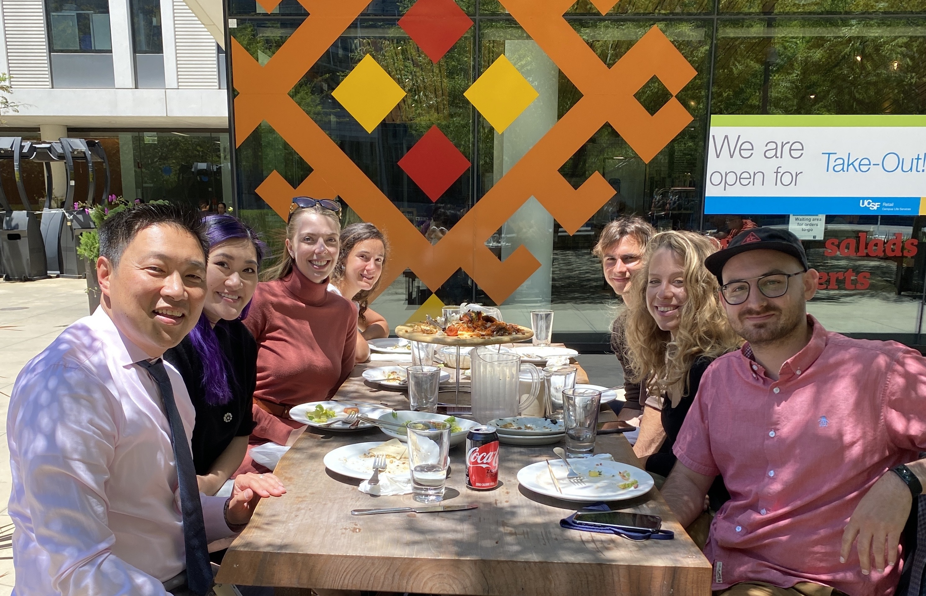photo of Return to Lab Lunch!